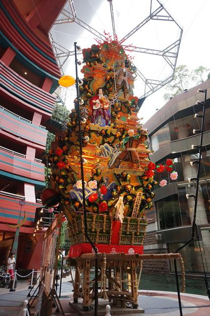 12 2014年 博多祇園山笠 飾り山笠 再茲歌舞伎花轢 (6)