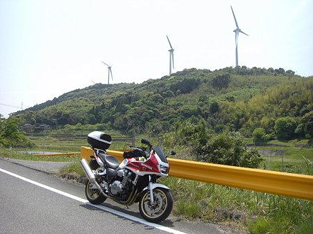 大河内の風車