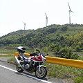 写真: 大河内の風車