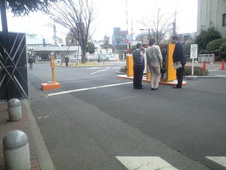 大岡山キャンパス 車道出口