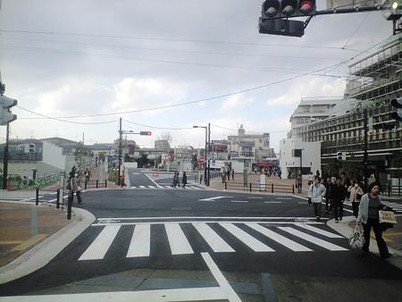 大岡山駅前広場