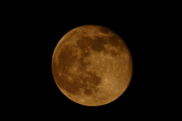 今日は赤い月