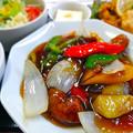 Photos: てんしん中華店 日替ランチ 酢豚定食 広島市南区的場町 Tianjin
