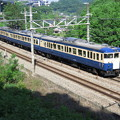 Photos: おそらく横須賀線を走ったことはないであろうスカ色の115系100...