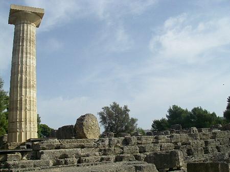オリンピア(Olympia)にて