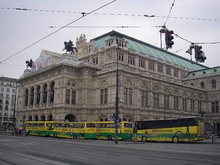 ウィーンにて