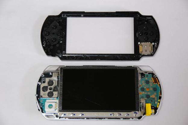PSP液晶自力交換 03