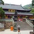 仏は常にいませども・・天童寺仏殿A Mahāvīra Hall on the mountainside