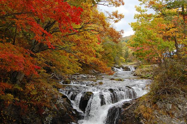 山や滝や風景の写真