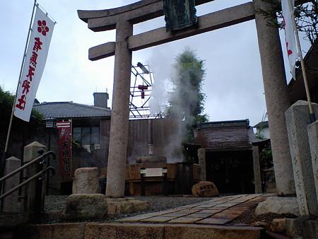 天神社です この時点でもわもわ熱い。