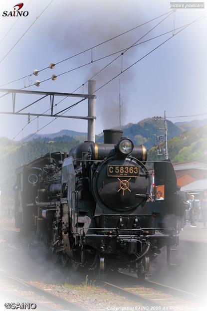 鉄道写真 蒸気機関車(SL)
