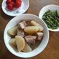 Photos: 豚バラ肉と大根の煮物