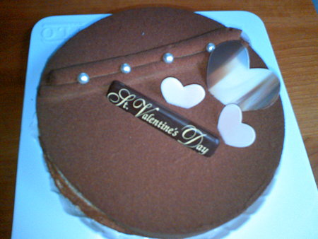 FLO バレンタインケーキ