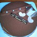 写真: FLO バレンタインケーキ