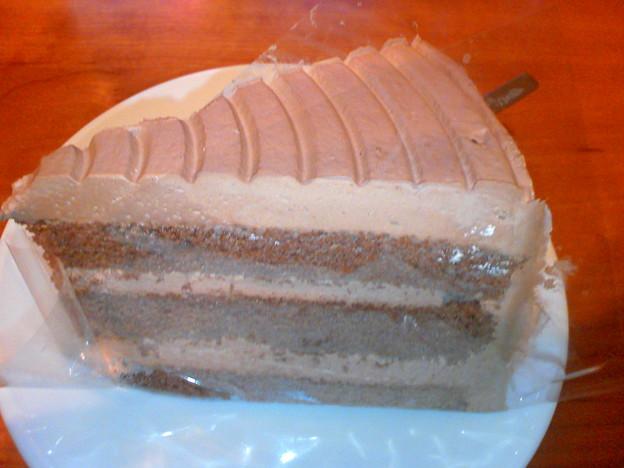 写真: イタリアントマト チョコレートケーキ