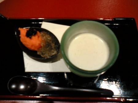 新宿 HISAMA'S KITCHEN 火香 ハンバーグご膳 前菜