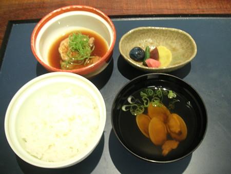 小樽旅亭 蔵群 鉢盛り&御飯&止椀&香物