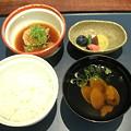 写真: 小樽旅亭 蔵群 鉢盛り&御飯&止椀&香物