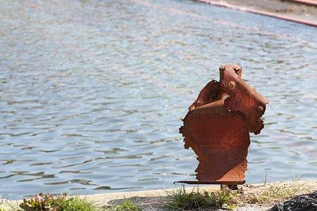 2009.03.07 諸磯漁港 ガードレール