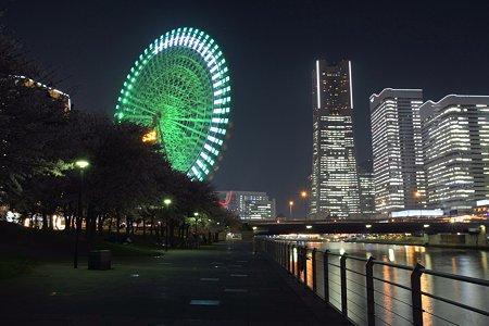 2009.04.07 横浜 夜桜 みなとみらい