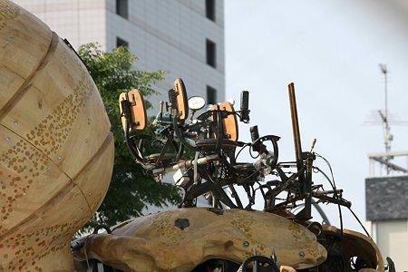 2009.04.26 みなとみらい ラ・マシンの巨大蜘蛛 操縦座