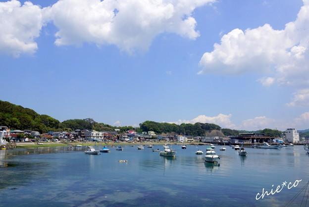 漁村の風景・・