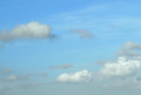 パステルな空と。。雲。。。