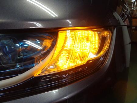 オデッセイ 埼玉県 ウインカー2色LED取付 オレンジ