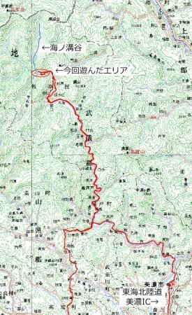 20070708海ノ溝谷沢登り