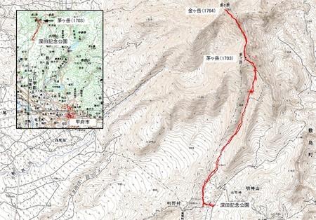 20070922茅ヶ岳ハイキング