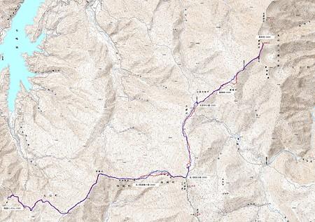 20080601薬師岳山スキー