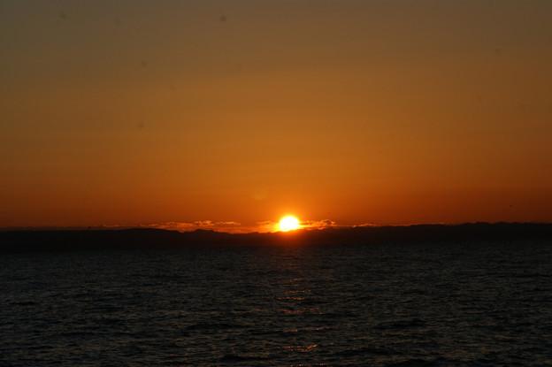 写真: 初日の出、2009年!