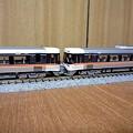 写真: (Nゲージ)383系ワイドビューしなの・増結シーン