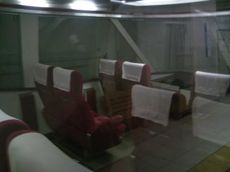 小田急10000形HiSEの展望座席付近