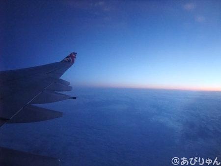 帰り飛行機1