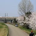 上越新幹線2階建てMAXときと桜