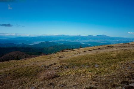 美ヶ原からの浅間山
