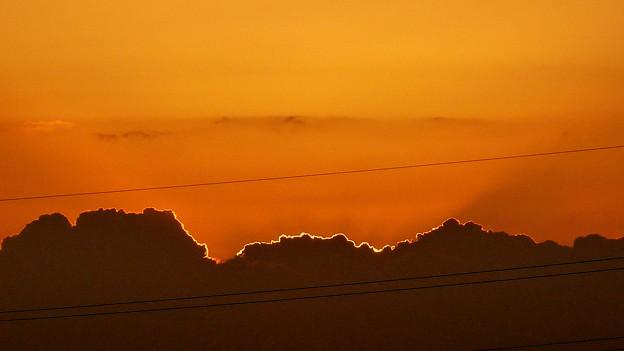 日の出も近い P1110775