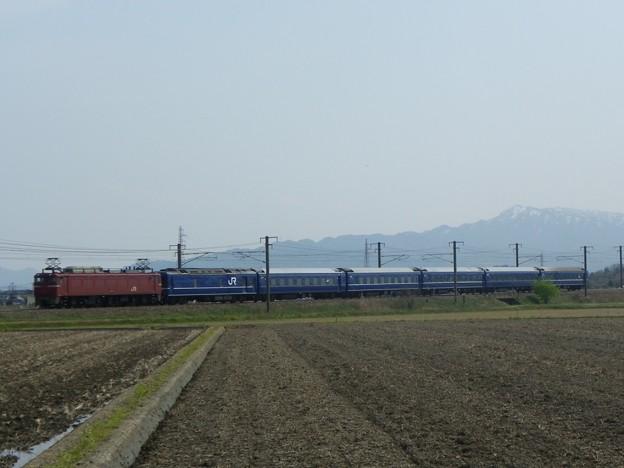 EF81 138+24系青森車6B ニコニコ超会議号返却回送