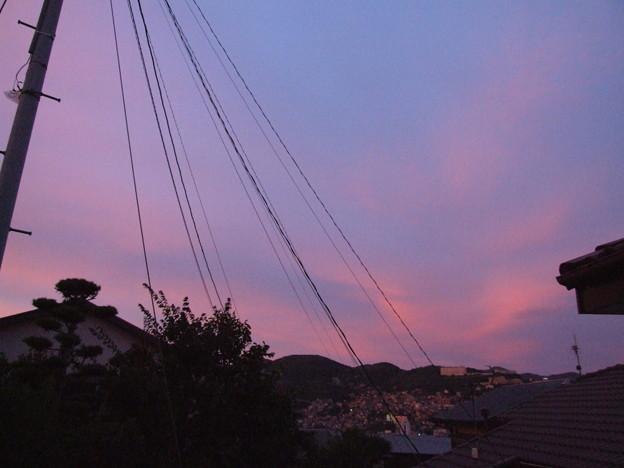 夕焼け 東の空 4
