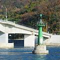 Photos: 橋の下の灯台(2)