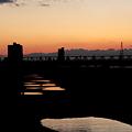 Photos: 夕日の足跡(3)