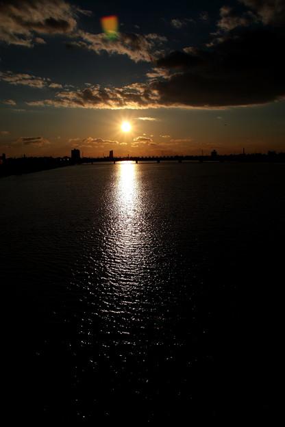 落日:淀川(3)