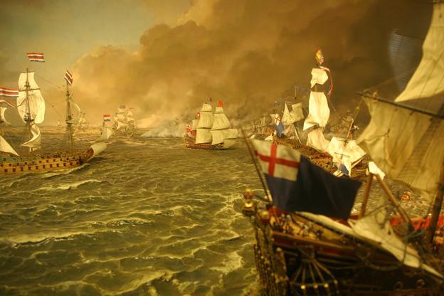 ミニチュア海戦