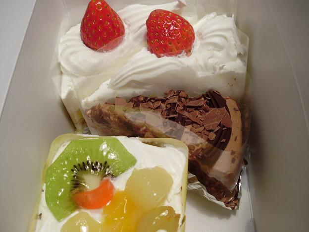 ショートケーキ全部で420円