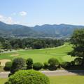 写真: 足利カントリークラブ選手権多幸コース18番ホール2014.6.15