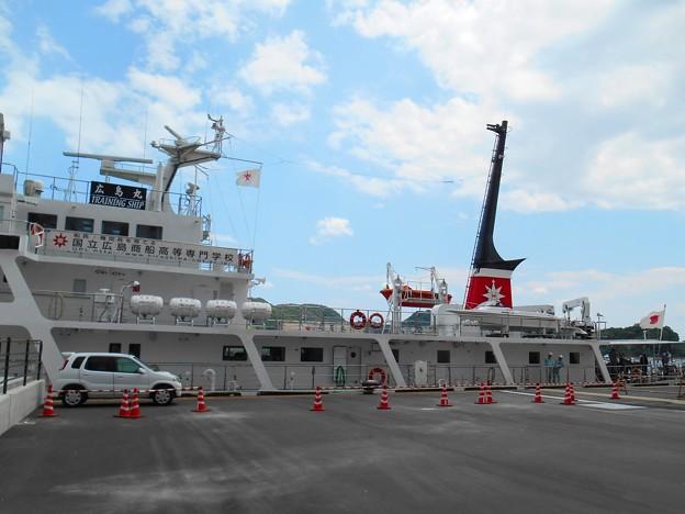 船長・機関長を育てる国立広島商船高等専門学校の練習船「広島丸」