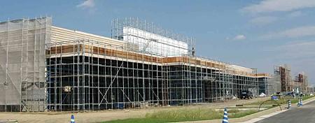 フレスポ鈴鹿 平成20年10月16日 開業予定で建設中-200923-1
