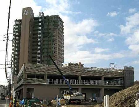 ドミー岡崎駅東店 平成20年3月31日 オープン予定で建設中-200116-2