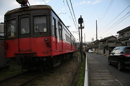 迫る銚子電鉄